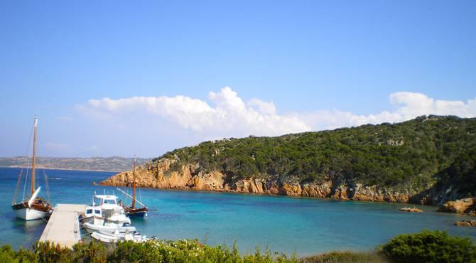 Isola di Spargi - arcipelago di La Maddalena, nord Sardegna