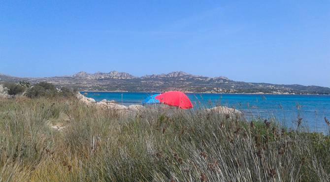 Spiaggia Capocchia del Polpo, a pochi metri dalla base Cala Peticchia